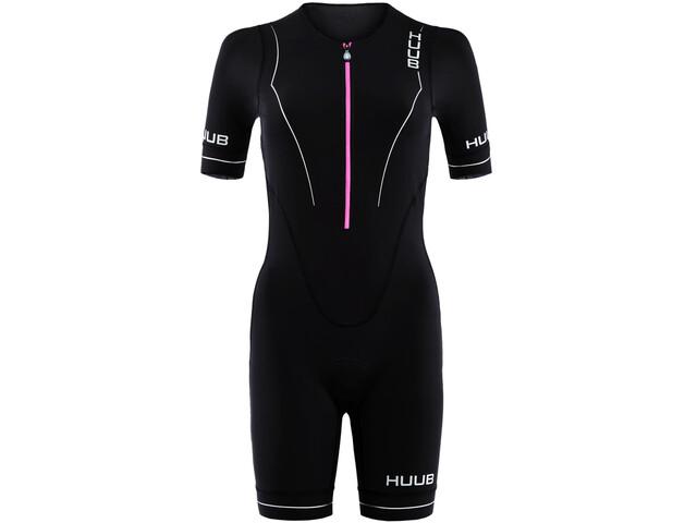 HUUB Aura Trisuit Long Course Kobiety, black/purple